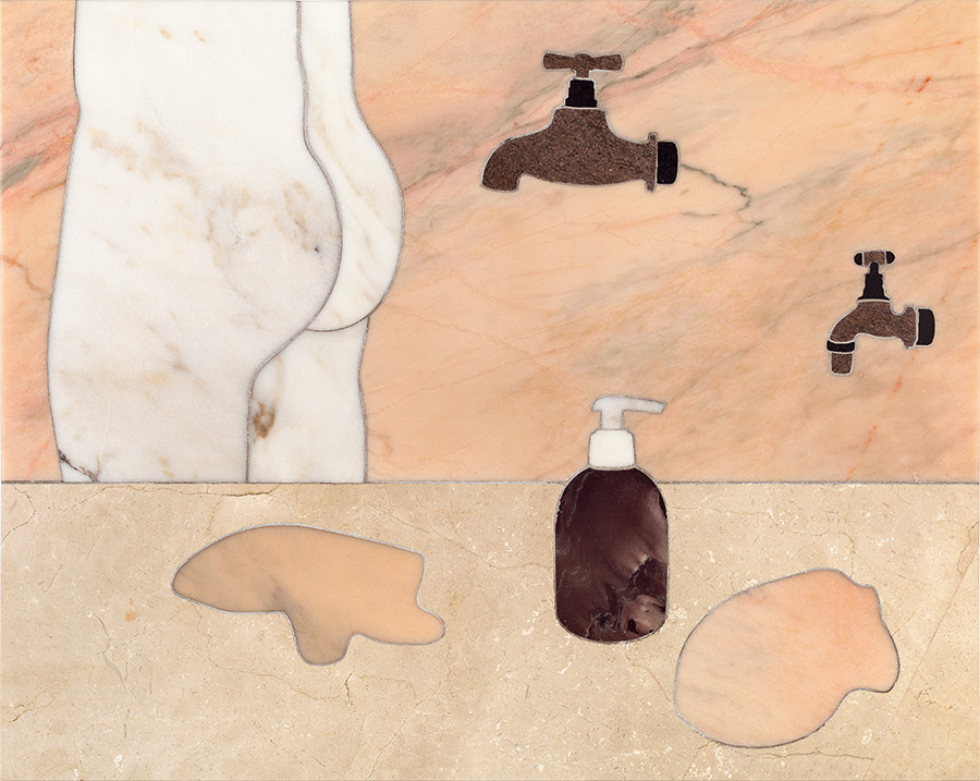 stone-marquetry-with-body-soap-dispenser-and-taps-ii